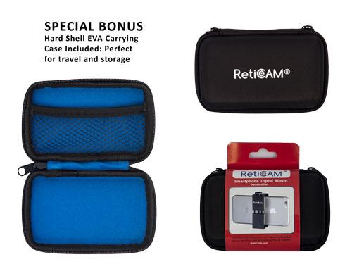 RetiCAM Smartphone Tripod Mount EVA Case - Standard