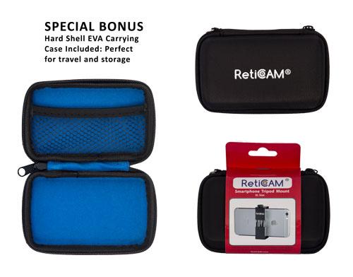 RetiCAM Smartphone Tripod Mount EVA Case - XL