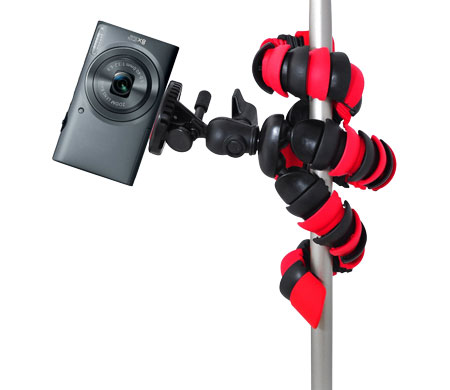 RetiCAM Flexible Tripod MT-25 Wrapped around Pole