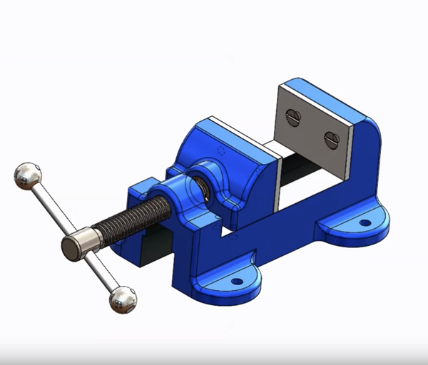 Vise Drawing Solidworks